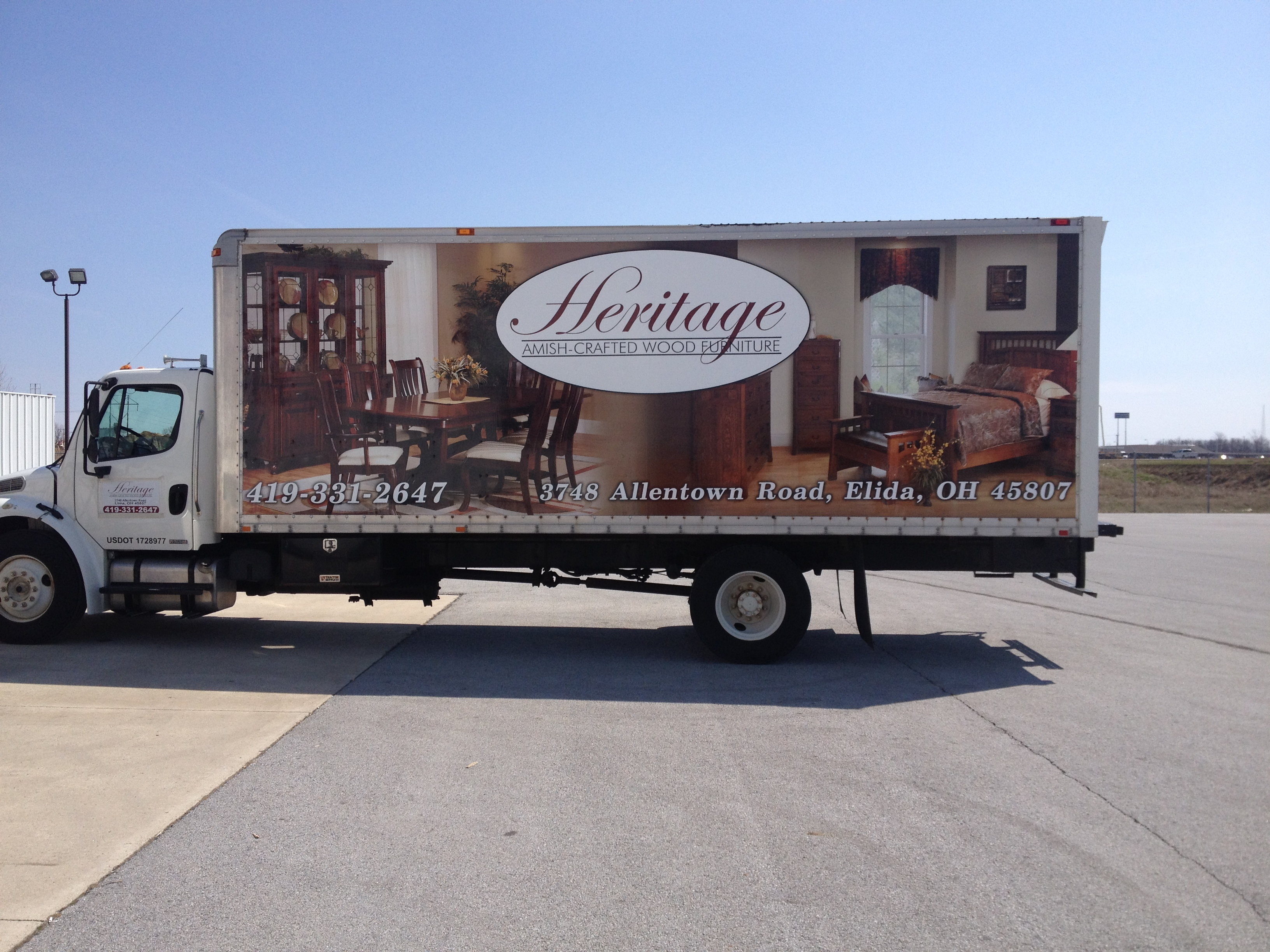 Truck Wrap - Sign Solutions of Ohio